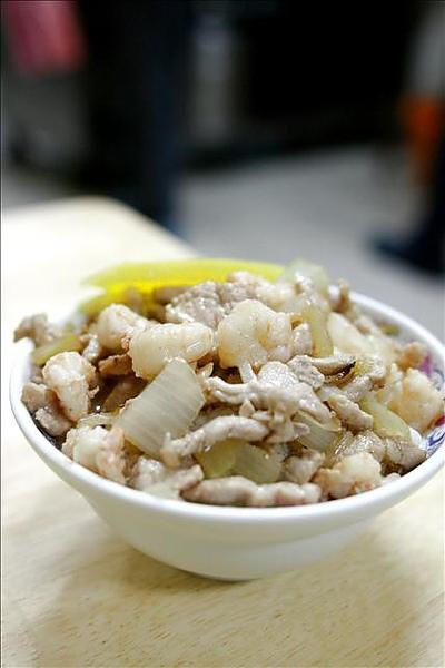 蝦仁肉絲飯