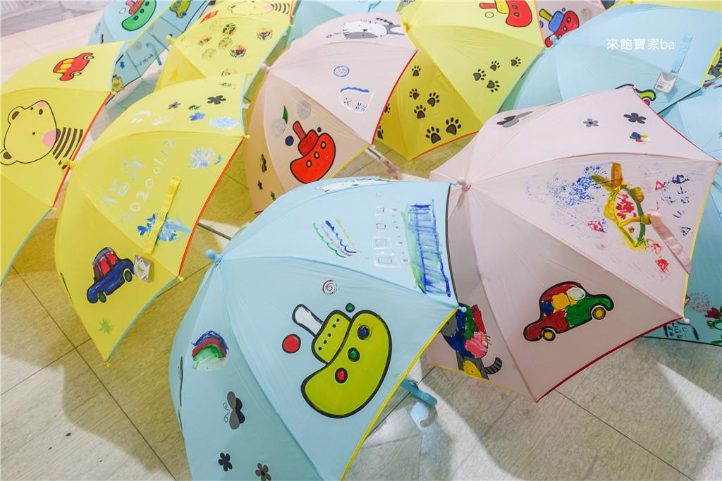 繽紛的彩繪傘-台中親子景點大振豐洋傘