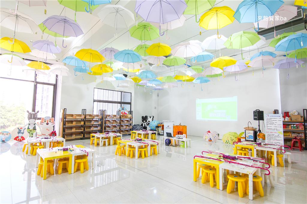 乾淨明亮DIY教室-台中親子DIY