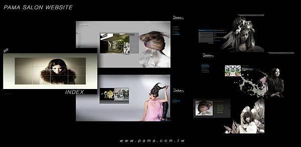 PAMA HAIR website