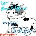 生日賀圖 2010 _楓月 繪