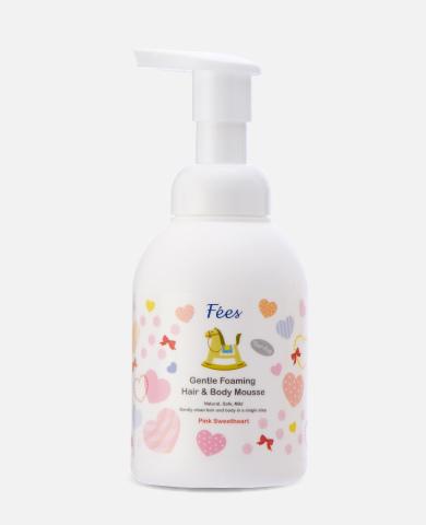 嬰兒洗髮沐浴泡泡-粉紅甜心390X480無倒影