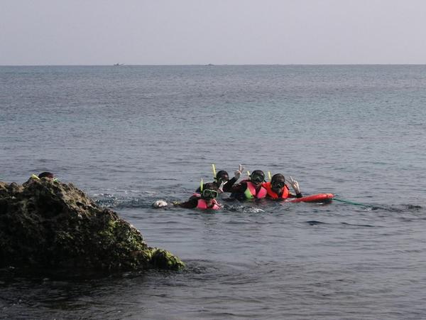 浮潛隊四人組