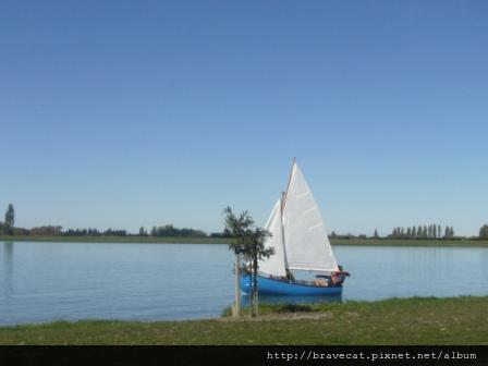 P1030324 Ashburton-Lake Hood,悠閒的午後.JPG
