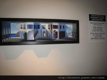 IMG_1218 Wanaka-Puzzling World,這幅畫很奇妙,凸起的地方像凹下.JPG