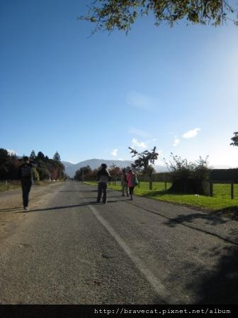 IMG_2373 Motueka - 喜歡跟大家在這樣的藍天下悠閒著走著((Fearon St).JPG