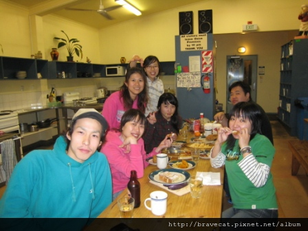 IMG_0488 Party Time. Wataru & I Ashley & Youjin & Seah & Sam & Yayoi. Youjin扮成吸血鬼好可愛.JPG