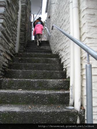 IMG_1373 Arrowtown- 這樓梯有祕境的感覺.JPG