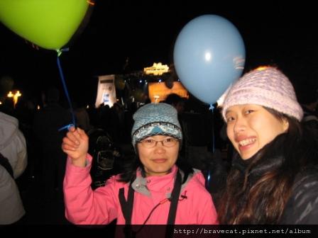 IMG_1551 UNDAUER PARTY- 現場還發放氣球唷,增添了些許節慶的氣氛,Li Fung & I.JPG
