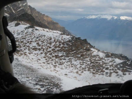 IMG_3233 The Helicopter Line,接近目標Remarkables