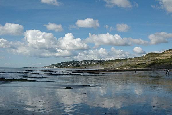 Lyme Regls海岸