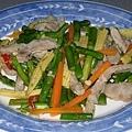 蘆筍炒豬肉