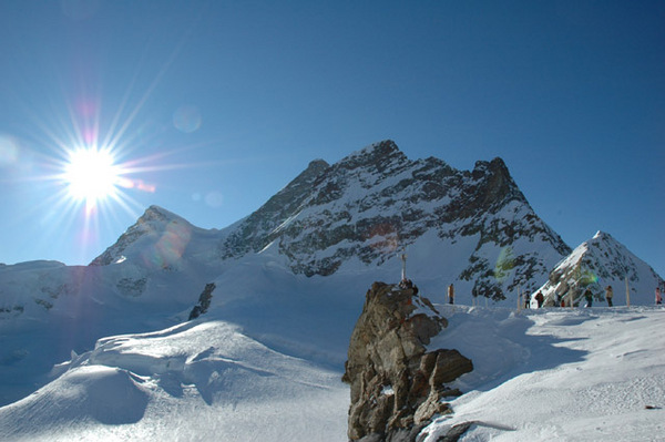 The top of Europe---Jungfraujoch