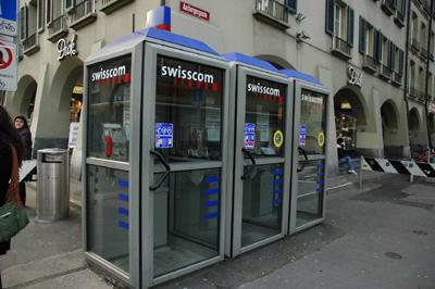 瑞士電話亭