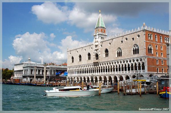 威尼斯的聖馬可廣場