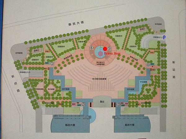 縣民廣場平面圖