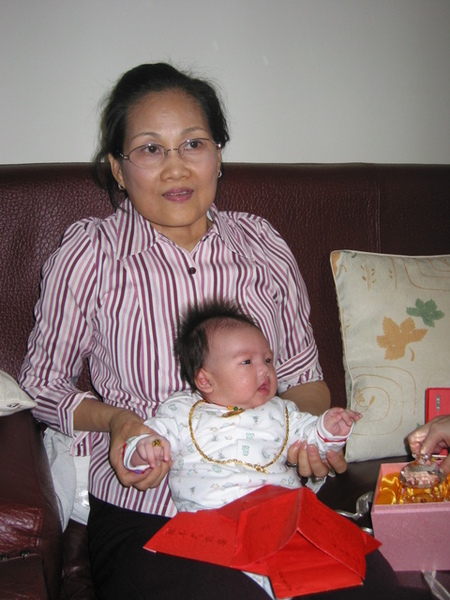 妹妹和奶奶