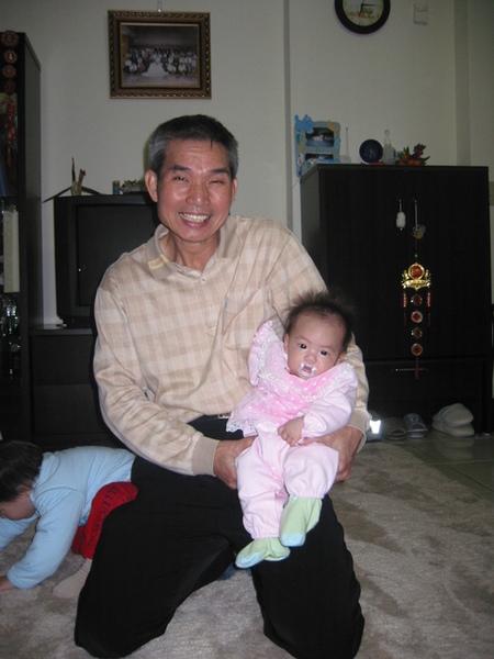 爺爺和妹妹