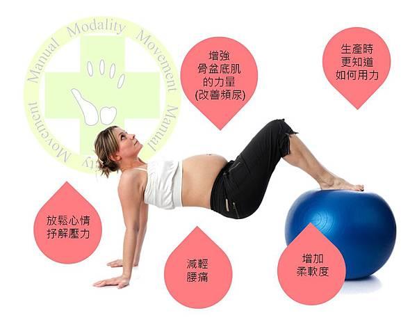 孕婦pilates