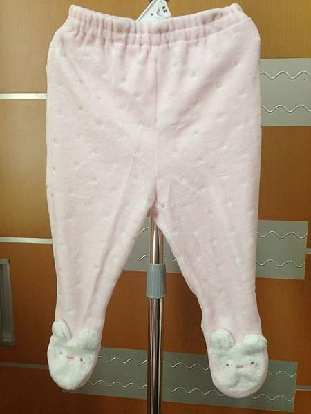 15.麗嬰房包腳兔子長褲70cm