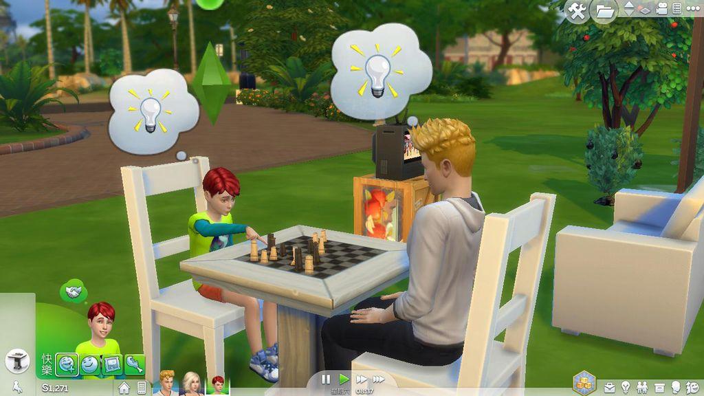 父子下棋4