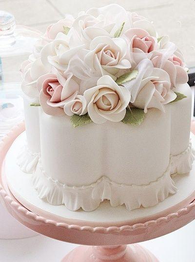 婚禮蛋糕scalloped-3