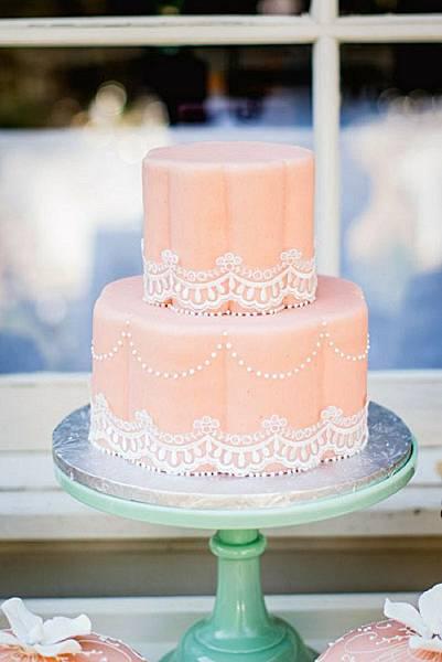 婚禮蛋糕scalloped-2