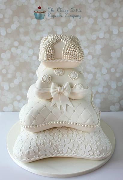 婚禮蛋糕pillow-2