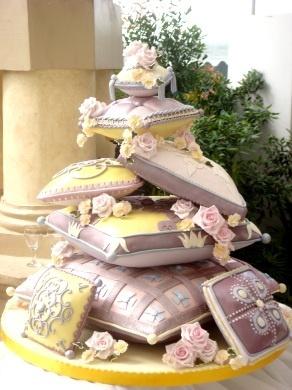 婚禮蛋糕pillow-1