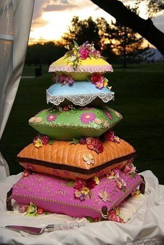 婚禮蛋糕pillow-3