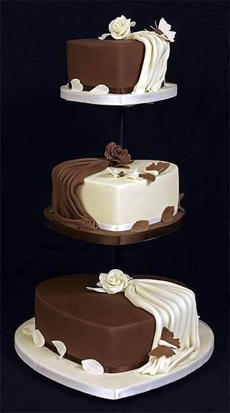 婚禮蛋糕heart-3