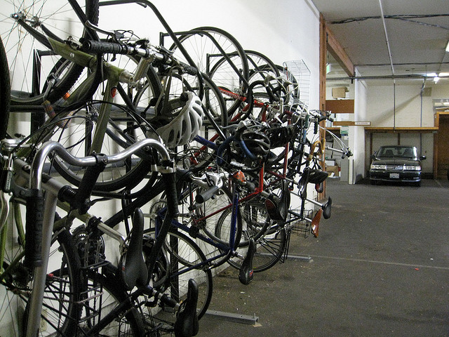 bycicles parking racks