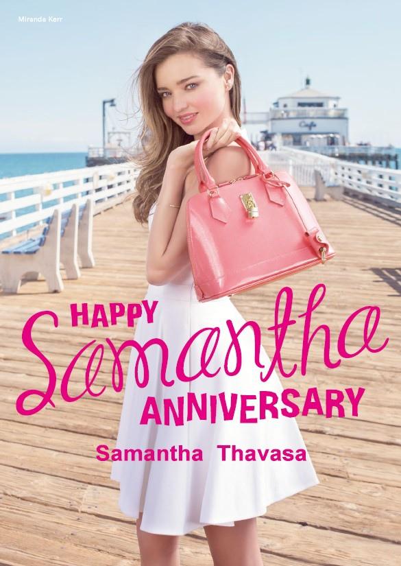 Samantha Thavasa 2015 SS 形象圖