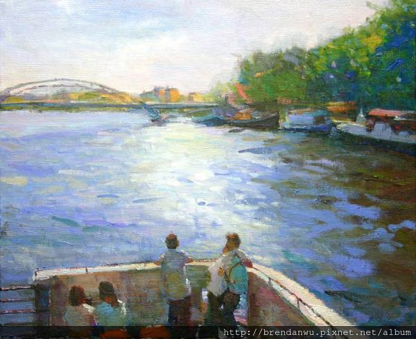 日安巴黎-塞納河風情