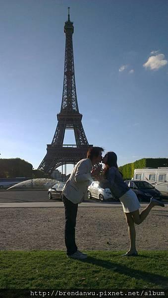 愛在巴黎黃昏時