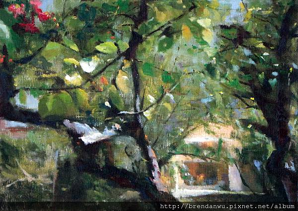 樹香-我的巴黎畫室小屋