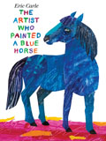 AFPG2605-ARTIST WHO PAINTED BLUE HORSE