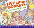 FIVE LITTLE MONKEYS JUMPING ON THE BED-AFHM407