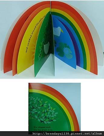 AFWA1078-DUCKIES RAINBOW-IN
