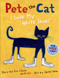 AFHA2433-PETE CAT I LOVE MY WHITE SHOES