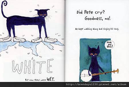 AFHA2433-PETE CAT I LOVE MY WHITE SHOES-IN