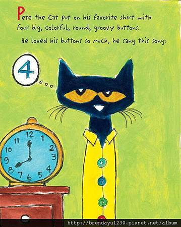 PETE CAT GROOVY BUTTONS