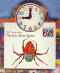 TELL TIME WITH VERY BUSY SPIDER