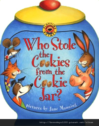 WHO STOLE COOKIES FROM COOKIE JAR