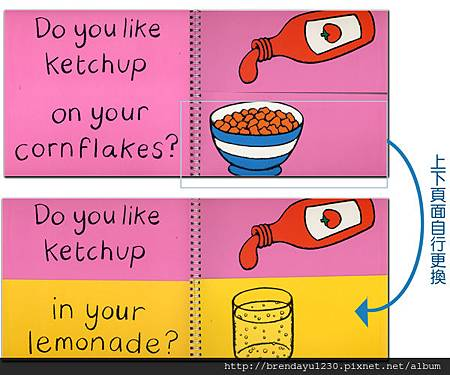 KETCHUP ON YOUR CORNFLAKES-IN