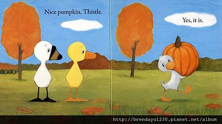 DUCK & GOOSE FIND A PUMPKIN-IN