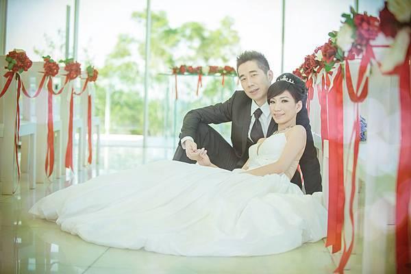 婚紗造型妝髮(9)