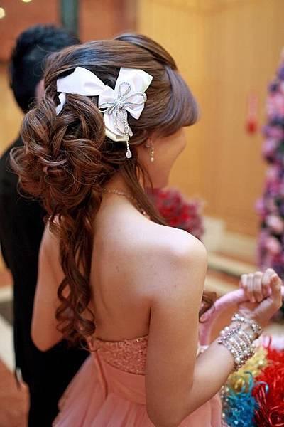 新娘造型/新娘妝/編髮