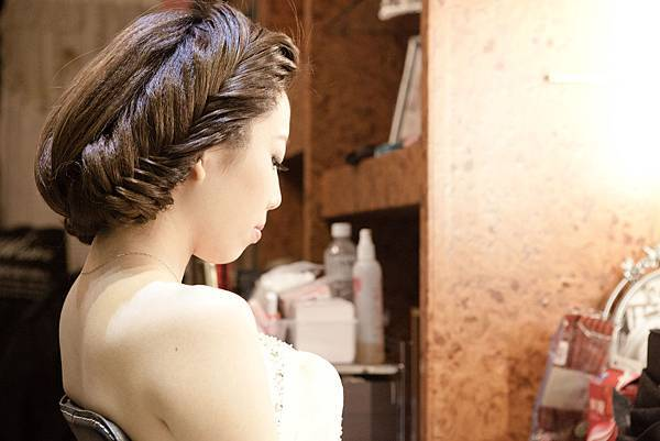 新娘髮型/新娘造型【推薦】華麗盤髮1