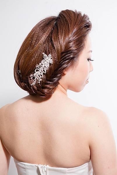 新娘髮型/新娘造型【推薦】華麗盤髮2